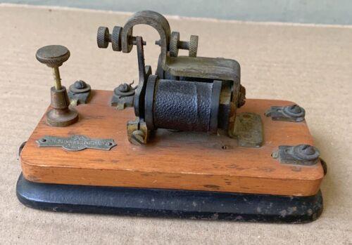 J.H. Bunnell Antique Telegraph Relay