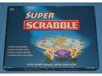 'Super Scrabble' Board Game