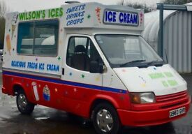 MARK 3 TRANSIT SOFT ICE CREAM VAN - CARP VAN 1 - BOCK - RE GASSED - PLEASE READ