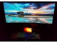 Razer BlackWidow Chroma Gaming Keyboard green Switches, RGB Chroma Multi-Colour Backlit (UK Layout)