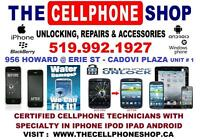 ON SPOT REPAIRS AND UNLOCK IPHONE IPOD IPAD SAMSUNG LG SONY