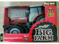 Toy Britains Massey Ferguson 6480 tractor 1-16 scale
