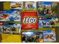 BNIB LEGO (rrp 9.99-23.99)selling for just over half price zoom in on models from £6-14