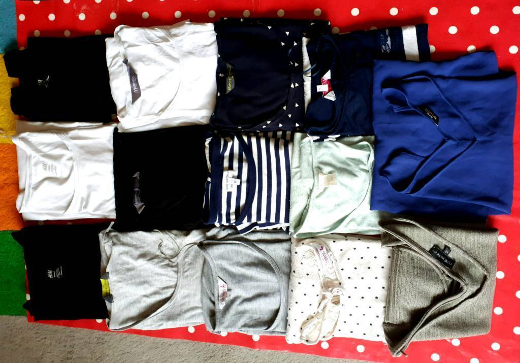97fc4c69a5844 Maternity Clothes Bundle - size 12/Medium - 29 Items £80 ono | in ...