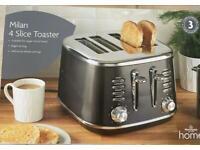 Milan 4 Slice toaster