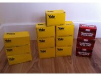 10 NEW Yale Door Locks - Bargain