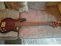 Yamaha BB605 Nathan East Purple Burst 5 String Electric Bass & Padded Gigbag!!!