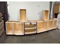 Kitchen Cabinets (Birch Plywood)