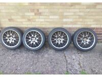 "16"" MG/ROVER Alloy Wheels with Tyres"
