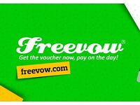 Promote your business for FREE on Freevow - the new deals site & app