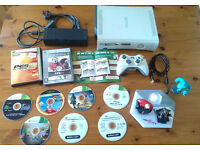 Xbox 360 + 9 games + controller + Disney Infinity. Delivery options available.