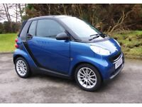 2010 Smart ForTwo Convertible with 85 MPG