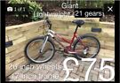 Ladies giant boulder mountain bike hardtail lightweight £75