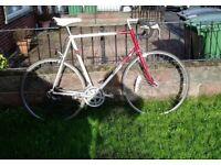 "Raleigh Racing Bike,Refurbished,25"" Frame,700c,Alloy Wheels,Many new PARTS."