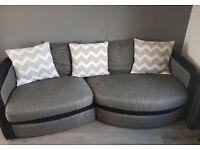 4 seater sofa & chair