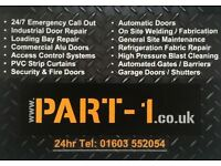 Part-1 engineering roller shutter doors