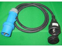 CARAVAN/MOTOR HOME ADAPTER CABLE - (See photos and details)