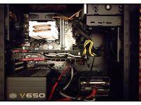 Gaming PC: Intel i5, Asus AMD R9 280X, 8GB RAM, 1TB HDD/Hard Drive
