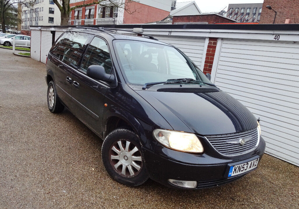 2004 53 chrysler voyager 2 4 lx manual petrol in. Black Bedroom Furniture Sets. Home Design Ideas