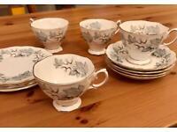 Tea Set by Royal Albert with tea plates