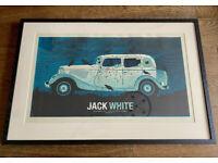 Jack White Birmingham 02 Academy 2012 Limited Edition Print - Professionally Framed