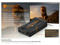 (HDMI from SCART) convertor box. Ideal for modern game systems using older CRT TV Sets.