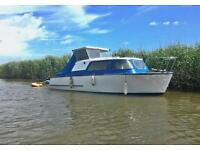 Todd Tuna 21ft Diesel Cabin Boat