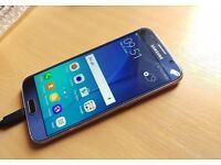 SAMSUNG GALAXY S6 32GB BLACK SAPPHIRRE 02/TESCO/GIFFGAFF