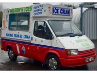 TRANSIT SOFT ICE CREAM VAN - CARPIGIANI VAN 1 - BOCK COMPRESSOR - RE GASSED