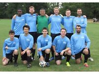 NEW TO LONDON? PLAYERS WANTED FOR FOOTBALL TEAM. FIND A SOCCER TEAM IN LONDON. Ref: 34e