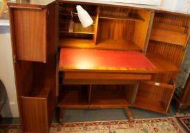 Newcraft Home Office. Solidly-built 1960's, fold-away, home-office desk.