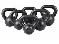 Cast Iron Kettlebells gym workout weights 4kg 8kg 10kg 12kg 16kg 20kg