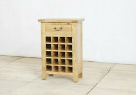 Oak Wine Rack-4.5cm Thick Tops!! CHEAPEST PRICES IN U.K!!!!