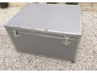 Giant Solid Metal Storage Case Trunk Box