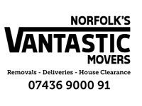 Removals, Deliveries, Clearances, Man with a van