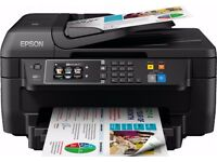 New Boxed Epson Workforce WF2660DWF 4in1 Printer with 16X XL Black cartridge (up to 1000 pages)