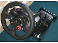 Logitech G29 Driving Force Racing Wheel & Wheel Stand Pro