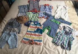 3-6 Months boys summer Bundle - 13 items