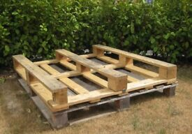 Two Wooden Pallets