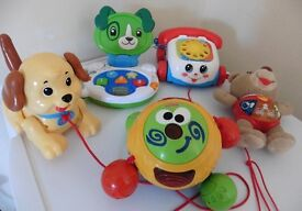 Big bundle of baby toys Fisher Price, VTech, Leap Frog £10 for all collection from Shepshed.
