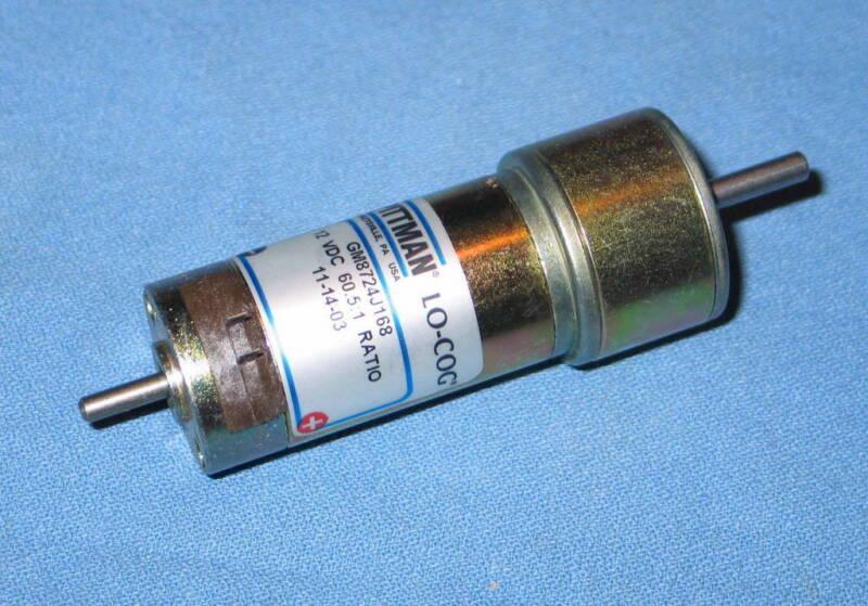 Pittman GM8724J168 12VDC 60.5:1 Ratio Gearhead Precision Motor - NEW
