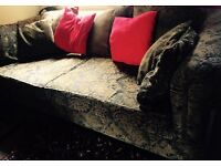 Amazing 8 ft Vintage Chesterfield sofa
