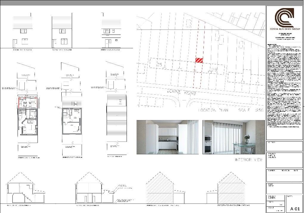 Architectural Drawing Services   £599 ( House Extension Services + Planning  Application)