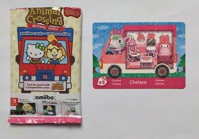 Animal Crossing Sanrio Amiibo Card Chelsea Scenario 5 EU VERSION