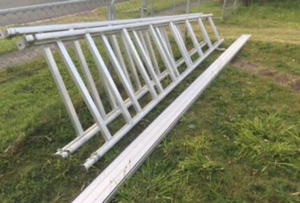 16ft Aluminium tommy tucker trestles - brand new  Victoria Point Redland Area Preview