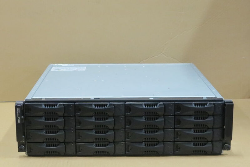 Dell EqualLogic PS6000E Virtualized iSCSI SAN Storage Array 8 x 500GB