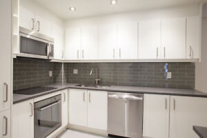 washer/dryer- Renovated Downtown 2 bedroom-  4 1/2 Centre-ville