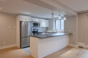 Fully Renovated 2 bed - Downtown / McGill / Concordia  - 4 1/2