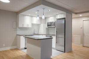 renovated 1 bedroom apartment in Westmount - pool, gym, doorman