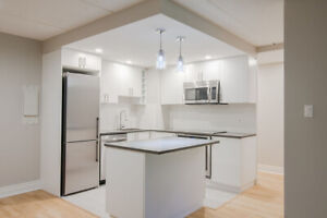 2 bed 2 bath - Westmount 4 1/2- fully renovated  - pool / gym